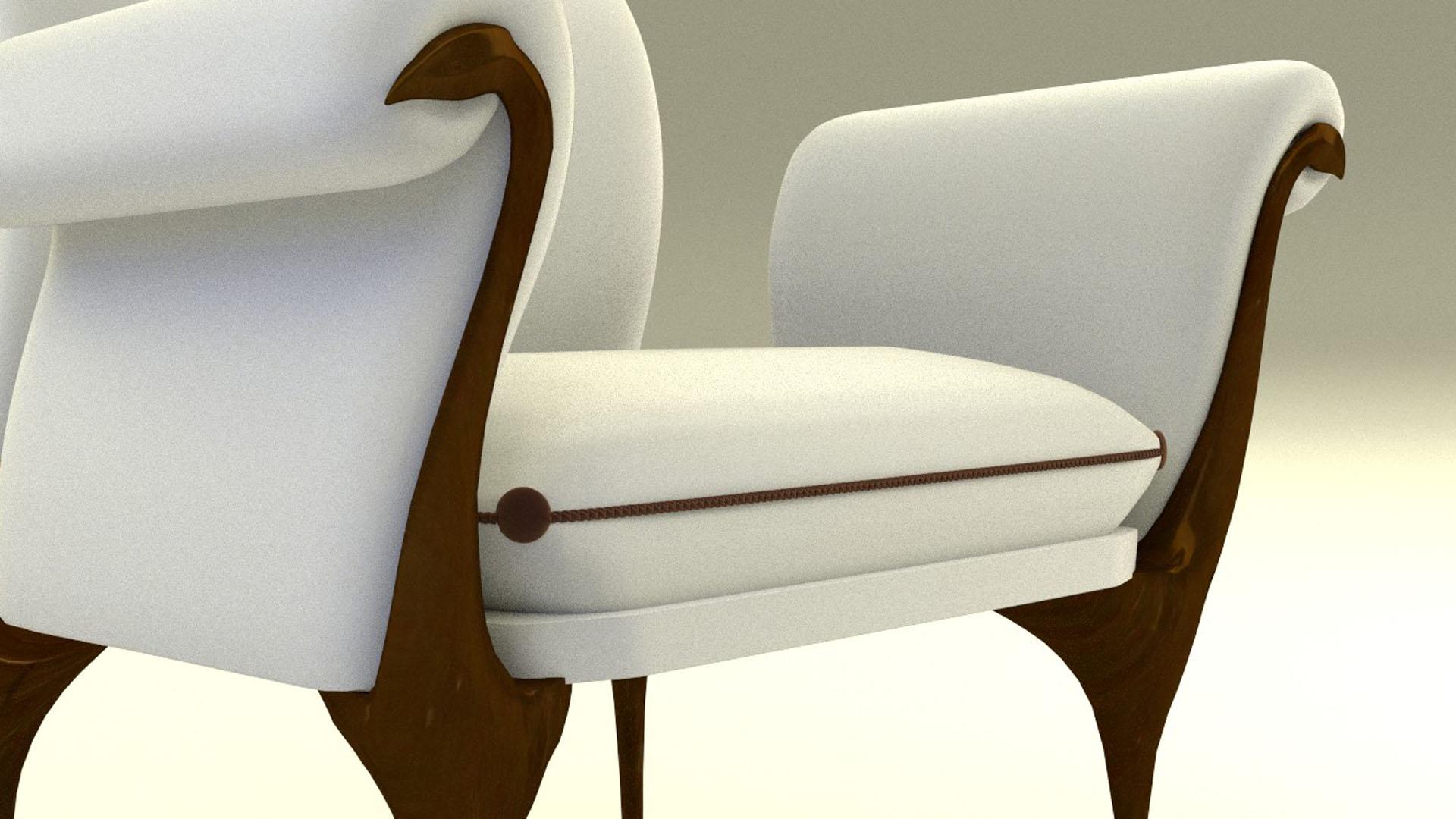 fauteuil réalisation damien pons infographiste