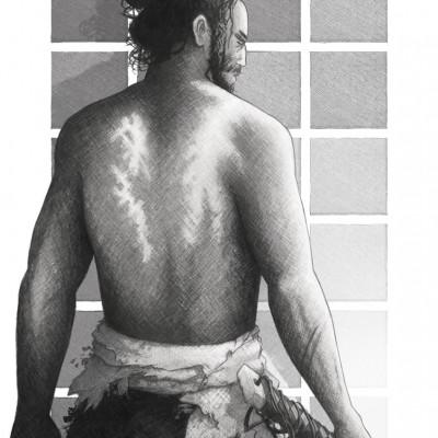 samourai, damien, pons, strasbourg, illustrateur