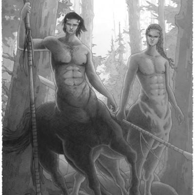 centaure, damien, pons, strasbourg, illustrateur