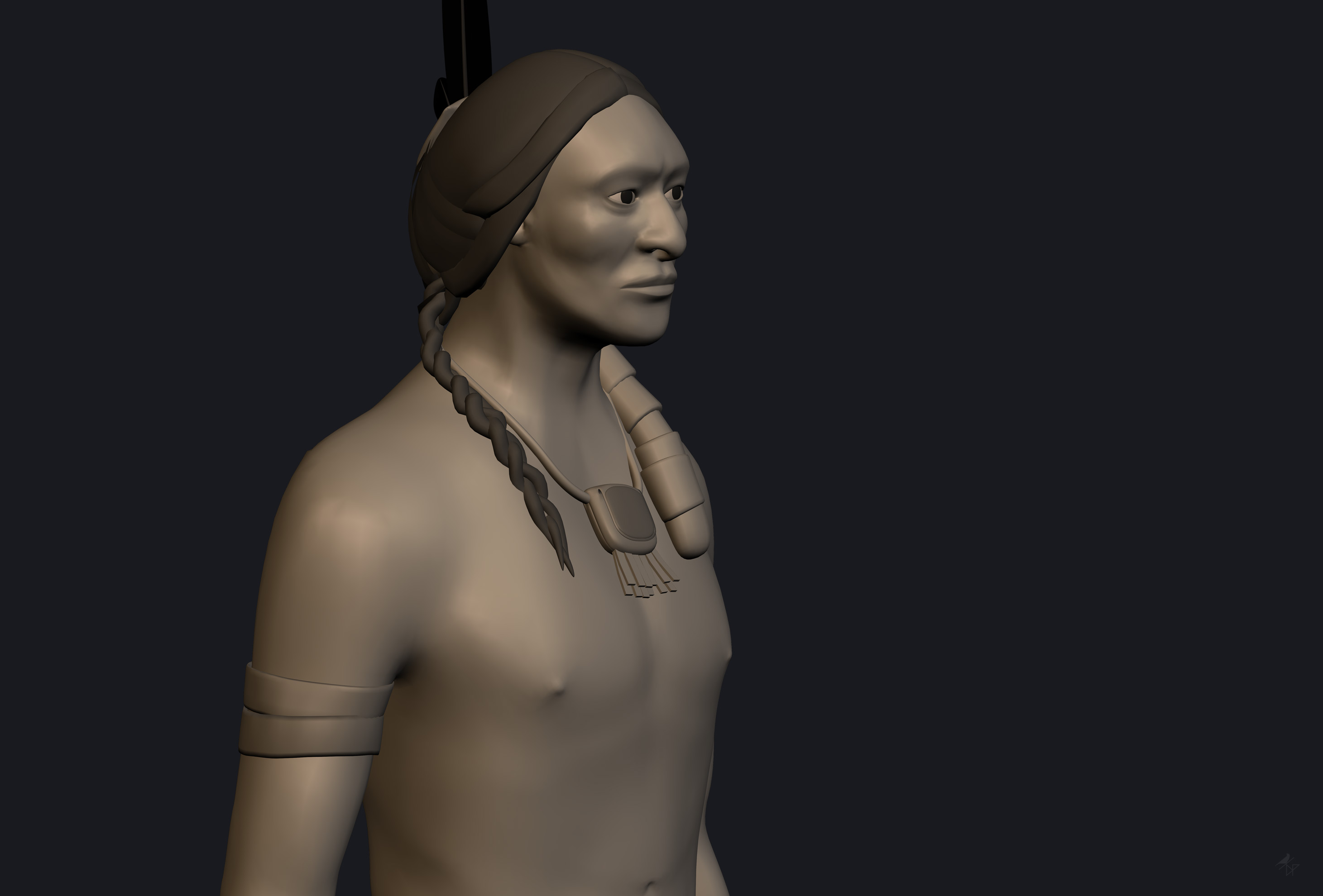 3D, character, indien, damien, pons, strasbourg, alsace, grand est